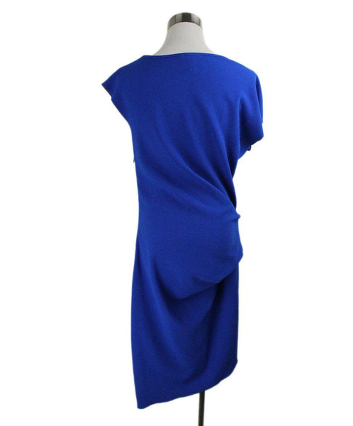 Lanvin Blue Cotton Polyester Dress 3