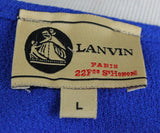 Lanvin Blue Cotton Polyester Dress 4
