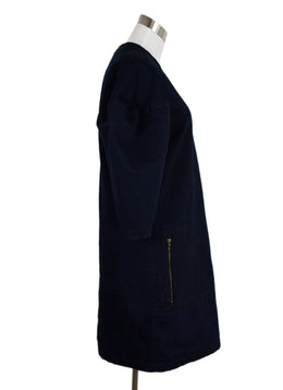 Lanvin Dark Blue Denim Dress 2
