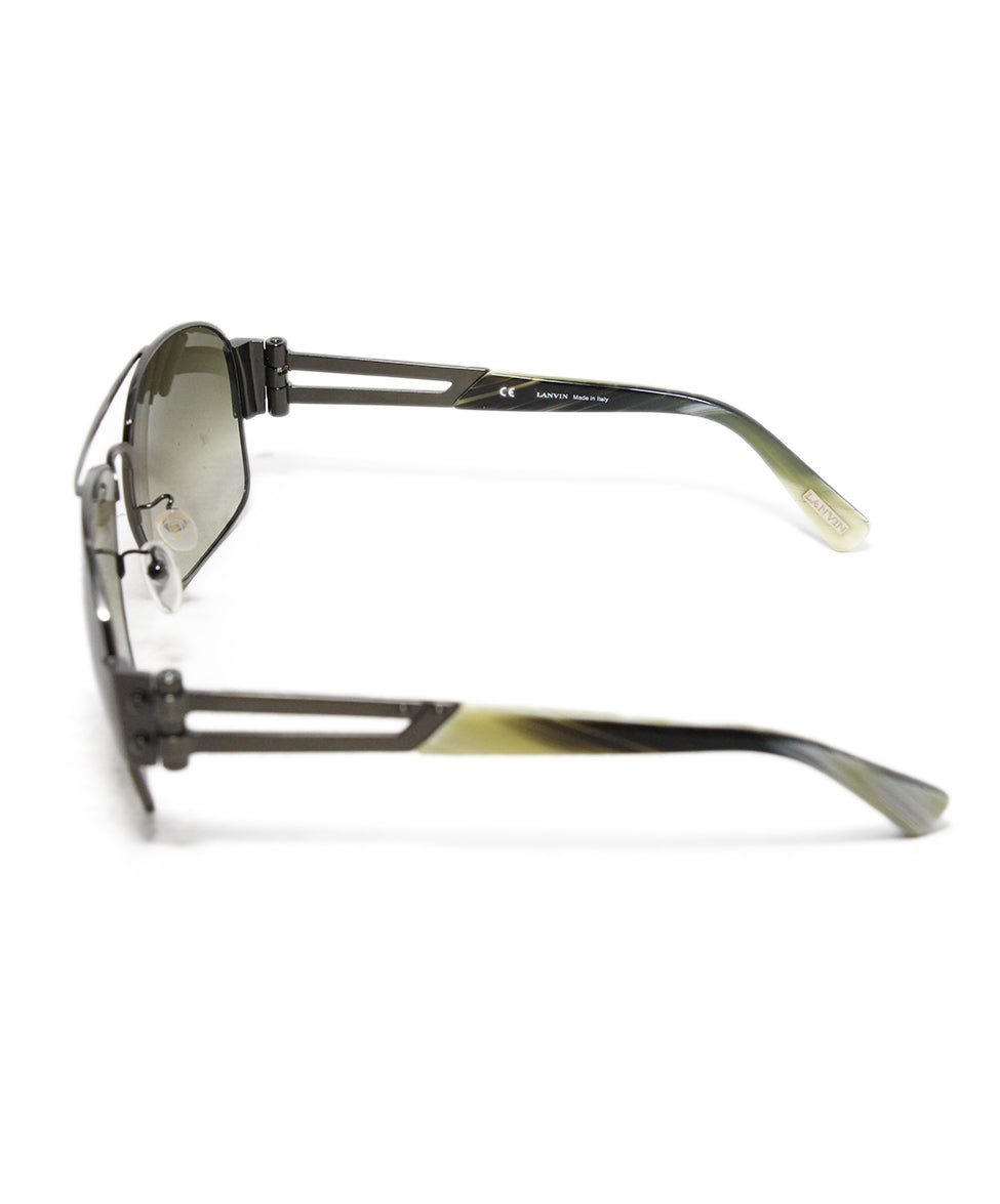 Lanvin Brown Lens Horn Sunglasses 3