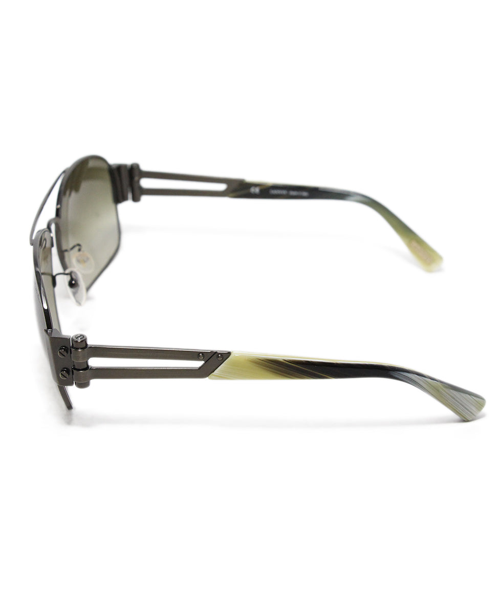 Lanvin Brown Lens Horn Sunglasses 4