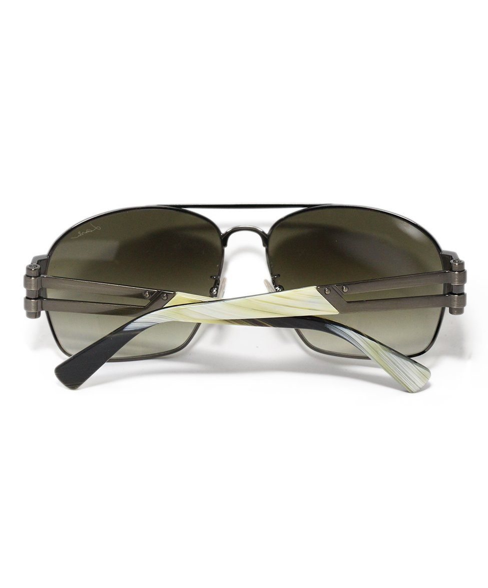 Lanvin Brown Lens Horn Sunglasses 2