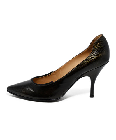 Lanvin Brown Patent Leather Heels 1
