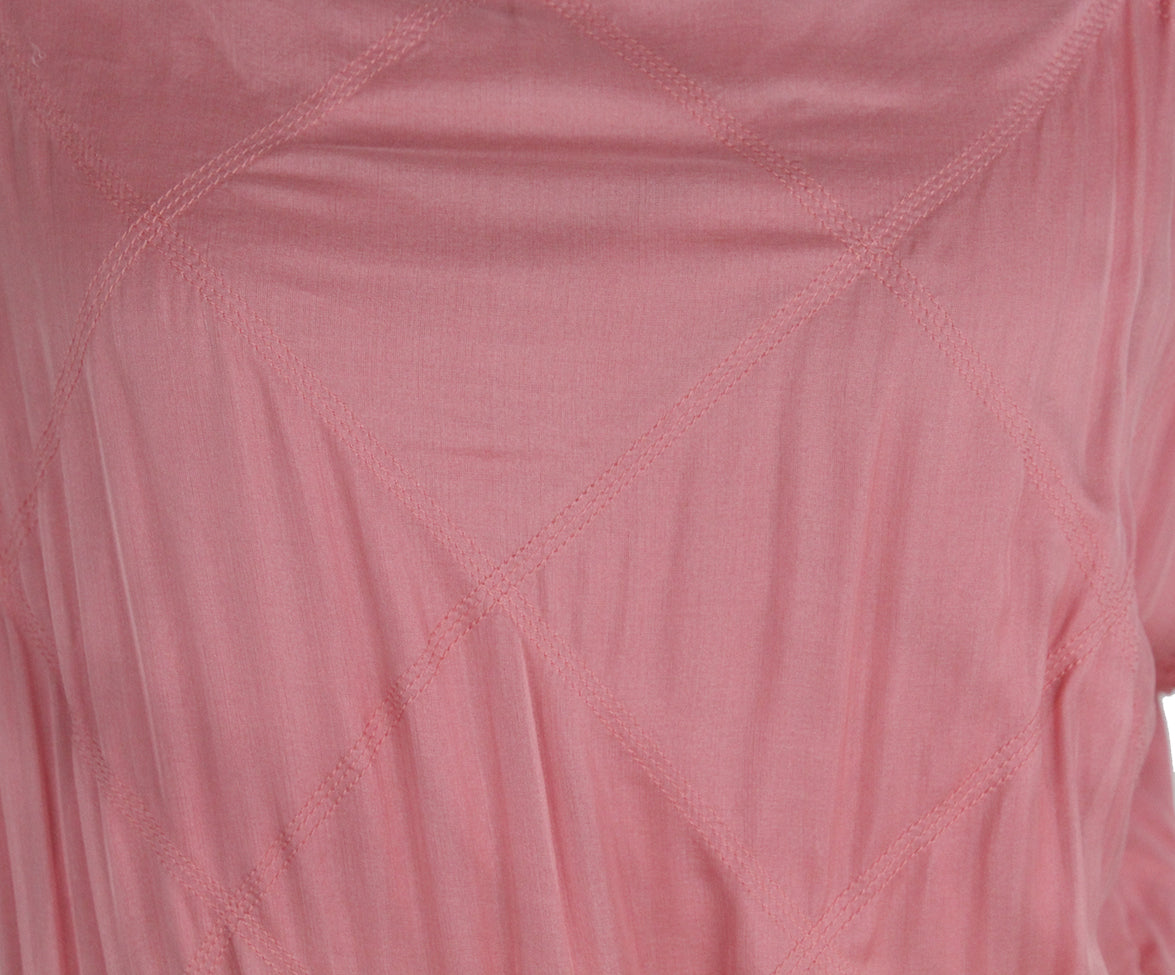 Lanvin pink silk dress 6