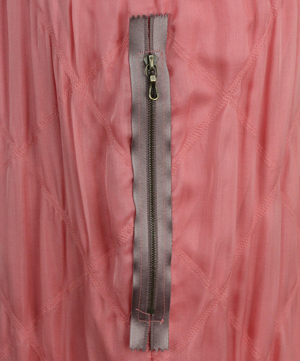 Lanvin pink silk dress 7