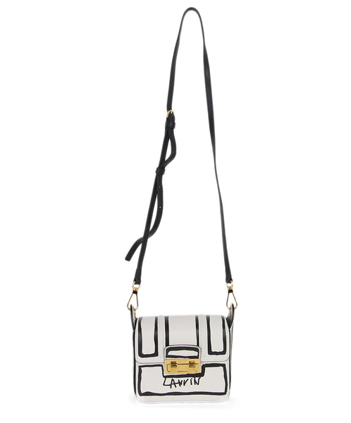 Lanvin white black leather Fashion crossbody 1