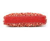 Larisa Barrera Red Coral Beaded Clutch 4