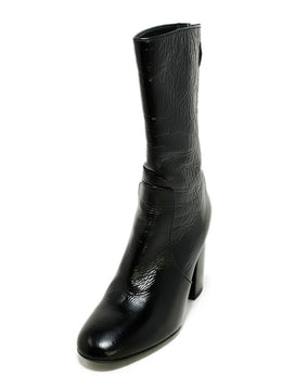 Laurence Dacade US 6.5 Black Patent Leather Boots 1