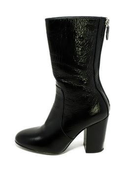 Laurence Dacade US 6.5 Black Patent Leather Boots 2