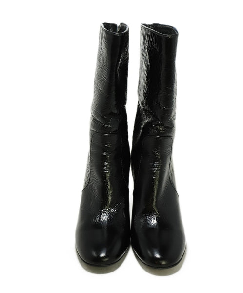 Laurence Dacade US 6.5 Black Patent Leather Boots 4