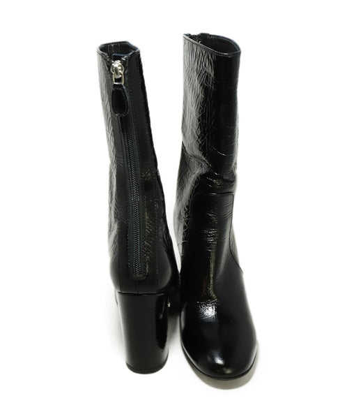 Laurence Dacade US 6.5 Black Patent Leather Boots 3