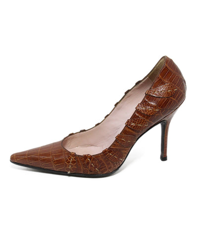 Laurence Dacade brown leather 1