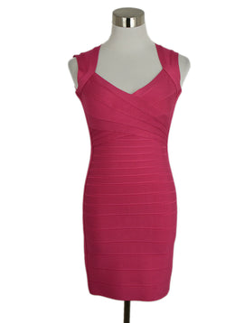 Leger Pink Nylon and Spandex Dress 1