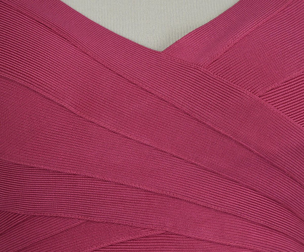 Leger Pink Nylon and Spandex Dress 5