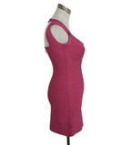 Leger Pink Nylon and Spandex Dress 2