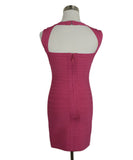 Leger Pink Nylon and Spandex Dress 3