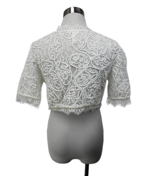 Leith White Lace Top 3