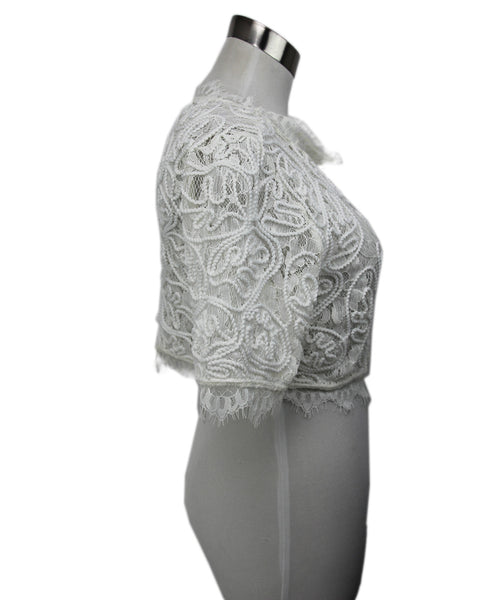 Leith White Lace Top 2
