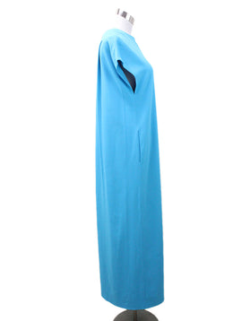 Lisa Perry Turquoise Polyester Dress 1