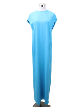 Lisa Perry Turquoise Polyester Dress