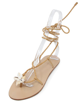 Loeffler Randall Beige Leather Shoes 1