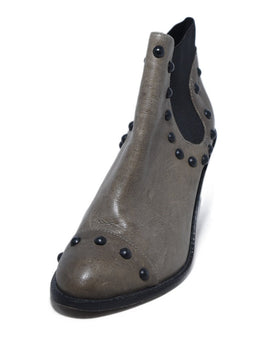 Loeffler Randall Brown Leather Studs Booties 1