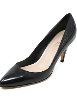 Loeffler Randall Black Leather Heels 1