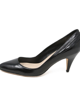 Loeffler Randall Black Leather Heels 2