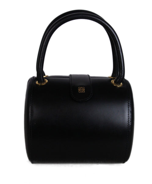 Loewe Black Leather Handbag 1
