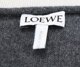Loewe Blue Charcoal Wool Cashmere Sweater 4