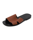 Sandals Loewe Shoe Brown Leather Shoes 1