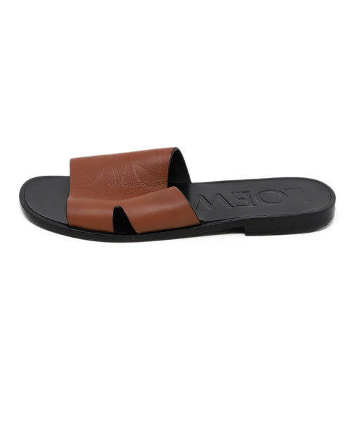 Sandals Loewe Shoe Brown Leather Shoes 2