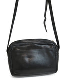 Longchamp Black Leather Crossbody 4