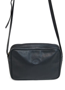 Longchamp Navy Blue Leather Crossbody 2