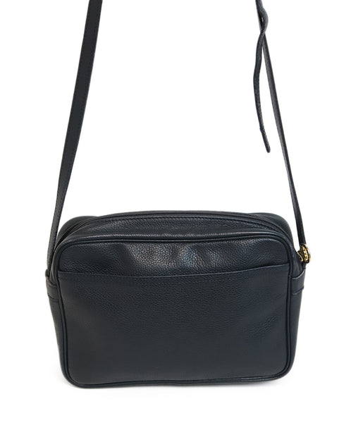 Longchamp Navy Blue Leather Crossbody 4