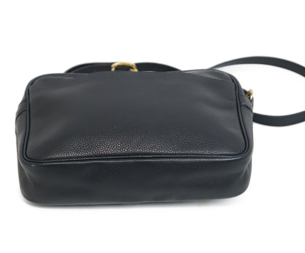 Longchamp Navy Blue Leather Crossbody 5
