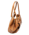 Loro Piana Brown Leather Shoulder Handbag 2