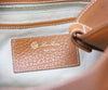 Loro Piana Brown Leather Shoulder Handbag 7