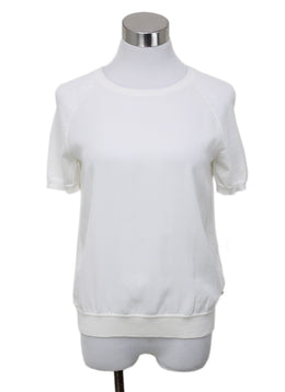 Loro Piana Ivory Silk Sweater