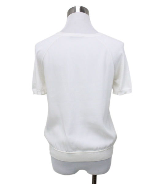 Loro Piana Ivory Silk Sweater 2