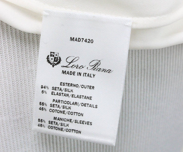 Loro Piana Ivory Silk Sweater 4