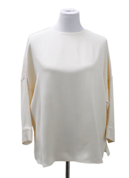 Loro Piana Cream Silk Blouse 2