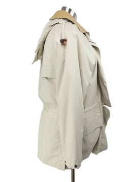 Loro Piana Neutral Beige Jacket with Removable Lining and Hood 2