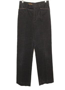 Loro Piana Navy Corduroy Pants sz 4