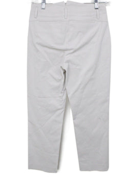 Loro Piana Neutral Stone Cotton Pants 1