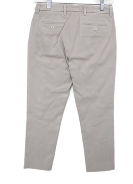 Loro Piana Neutral Beige Cotton Pants 1