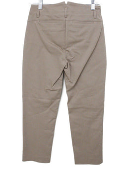 Loro Piana Neutral Tan Cotton Pants 1