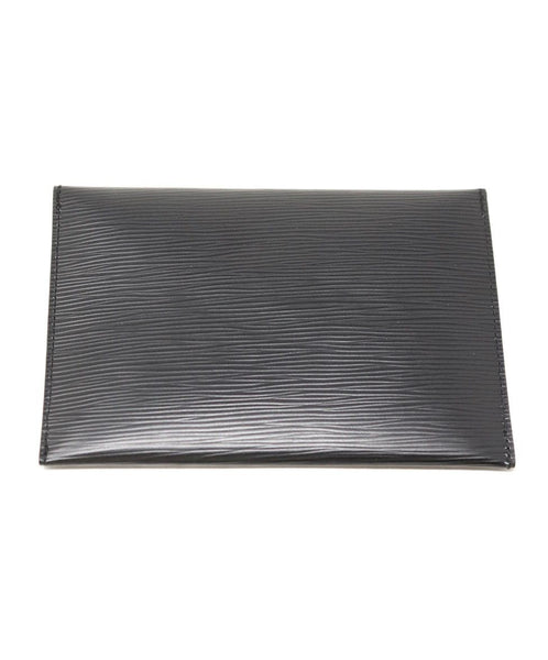 Louis Vuitton Black Epi Leather Wallet 1