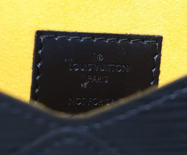 Louis Vuitton Black Epi Leather Wallet 4