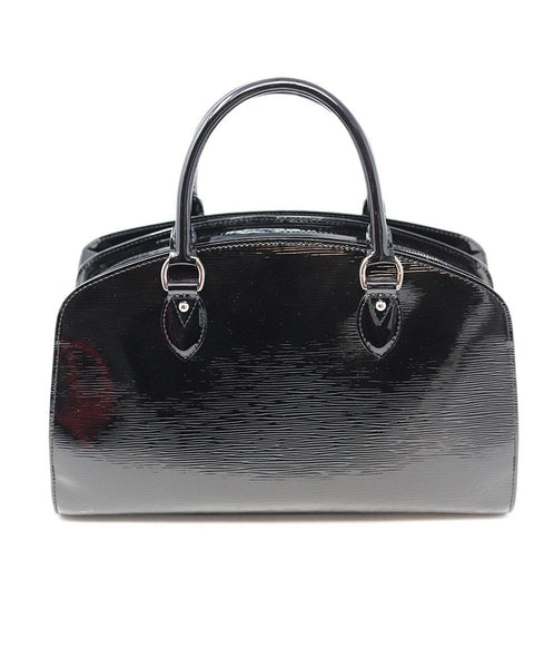 Louis Vuitton Black Patent Epi Leather Handbag